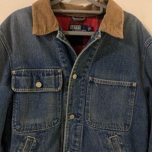 Vintage Polo Ralph Lauren Trucker jacket Flannel